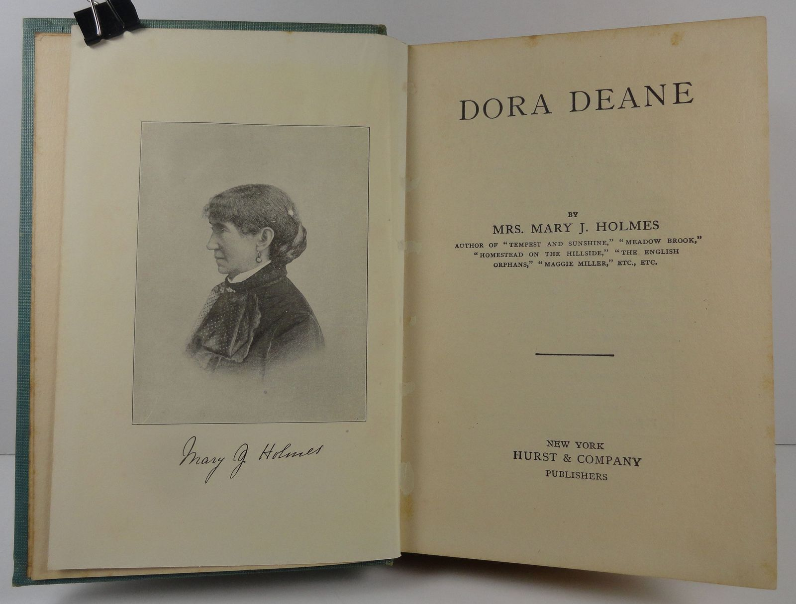 Dora Deane or The East India Uncle by Mrs. Mary J. Holmes