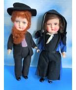 "Vintage Germany 10"" Amish Man & Lady Compositio... - $38.99"