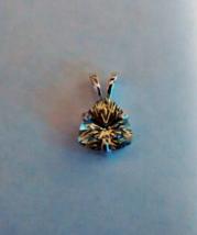 brilliant green amethyst pendant-sterling silver - $49.95