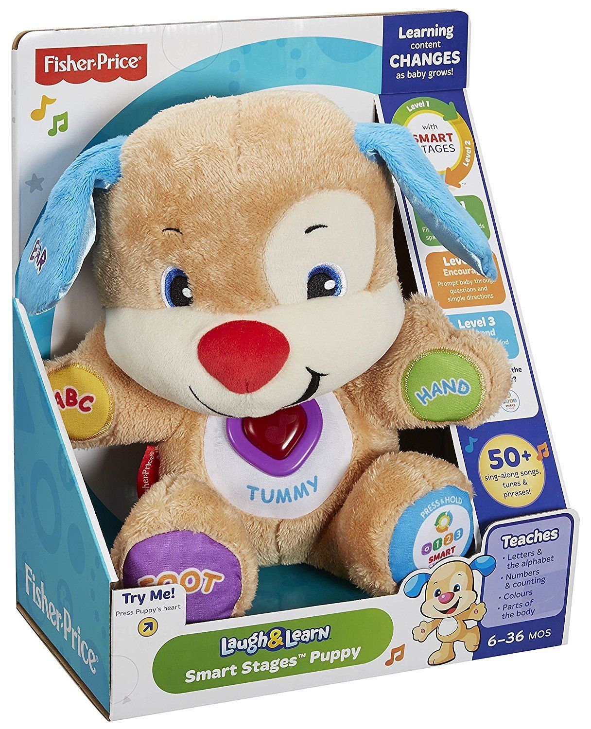 Fisher-Price Laugh & Learn Smart Stages Puppy - Walmart.com