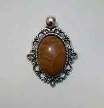 beautiful chinese jasper pendant - $9.95