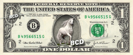 Beautiful HORSE on REAL Dollar Bill Cash Money Collectible Memorabilia B... - $6.66