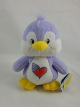 "Play Along 2004 Care Bear Plush ~ 8"" Cozy Heart Penguin w/Tags - $14.84"