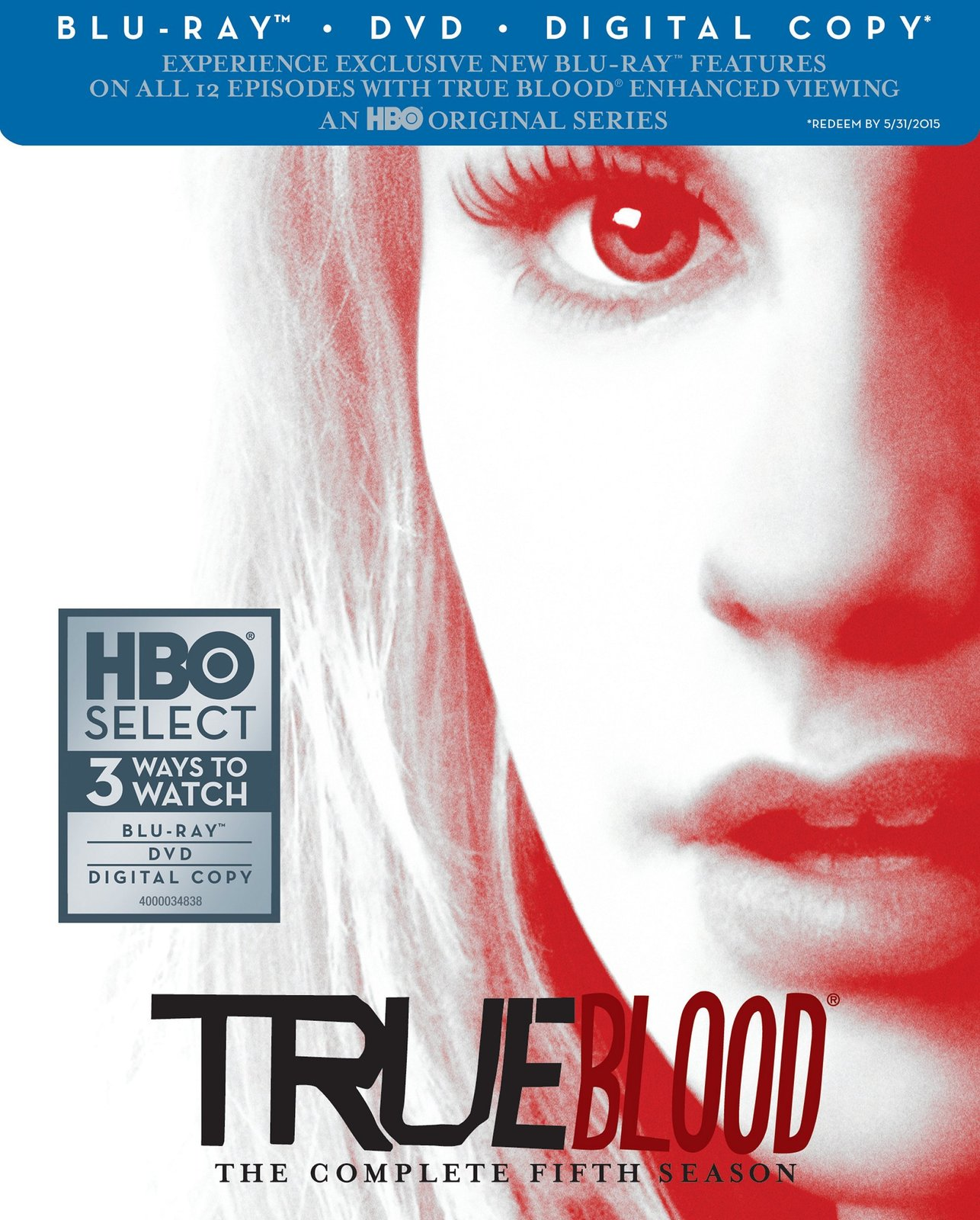 True Blood: Season 5 (Blu-ray/DVD Combo + Digital Copy) [Blu-ray] [2013]