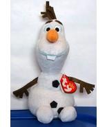 "Disney Frozen Olaf Snowman Ty Beanie Baby Plush Toy 8"" New ~ Christmas Gift - $9.90"