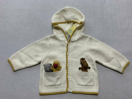 Gymboree Alphabet Soup 6 9 M Finger Puppet Caridgan Sweater Horse Duck Cat Vtg - $24.99