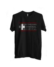 Logo only Grey Sloan Memorial Hospital Greys anatomy Men Tee S-3XL Black - $18.00