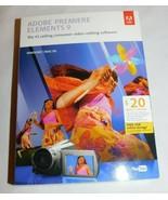 Adobe Premiere Elements 9 Windows/Mac - $52.25