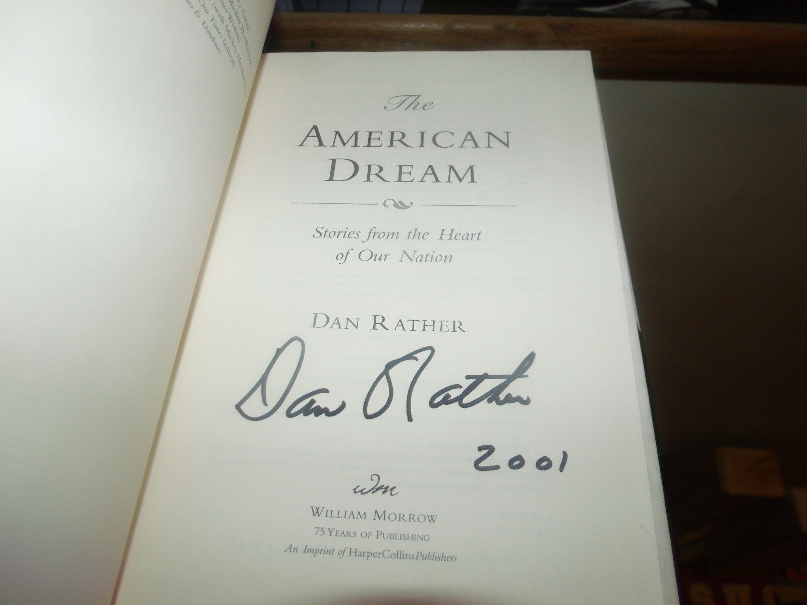 dan rather s american dream Available in: paperback in this inspirational new book, dan rather goes out in search of the american dream through interviews with ordinary people.