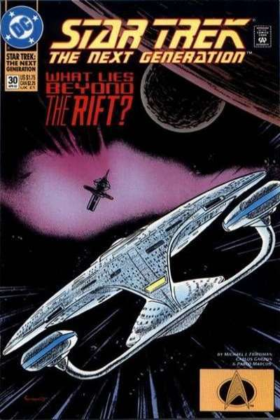Star Trek: The Next Generation (1989 series) #30 DC - What Lies Beyond The Rift