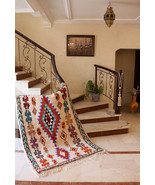 "Moroccan Tribal Unique Rug from ""Ourika"" - $444.00"