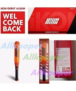 YG Official Kpop IKON Light Stick KONBAT Concert Glow Lightstick B.I BOB... - $17.58
