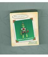 Prince Charming Hallmark Mini Keepsake Christmas Ornament Frog Prince - $9.99