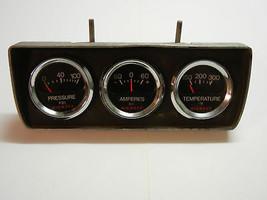 VINTAGE NIEHOFF GAUGES SET Oil, Amperes, Temperature - $86.13