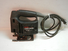 """SEARS CRAFTSMAN 315.171400 1/6 HP 2 Speed Double Insulated 1/2"""" stroke S... - $17.82"""