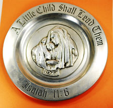 """RWP 10.75 Metal Collector Plate  """"A Little Chil... - $24.29"""