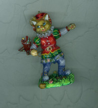 Puss In Boots Fairy Tale Christmas Ornament Resin - $10.39