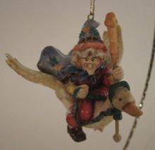 Mother Goose Fairy Tale Nursery Rhyme  Christmas Ornament Resin - $10.39