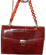 Vintage Alligator Crocodile  bag Purse - $500.00
