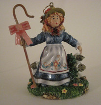 Little Bo Beep Has Lost Her Sheep Nursery Rhyme FairyTale Christmas Orna... - $10.39