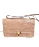 Vintage Hermes  Alligator Crocodile  Handbag Purse clutch - $10,890.00