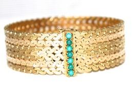18 k Gold Tress bracelet 81.4 grams - $4,454.01