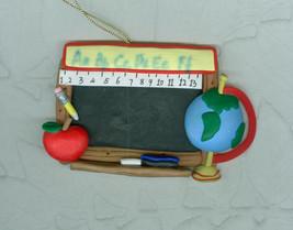 Chalkboard Christmas Ornament For Teacher - $5.00