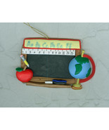 Chalkboard Christmas Ornament For Teacher - $5.00