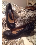"SOFTSHOE by MEDICUS LILLIE BLACK WOMEN'S Leather 2 3/4"" Heels Pumps Shoe... - $19.78"