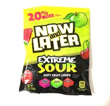 Now and Later Extreme Sour Soft Fruit Chews - $2.93