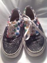 Vans Crayola Two Tone Blue Tennis Sneaker Skate Shoe Men's 5 Women's 6.5 - $23.75
