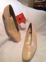 NINE WEST ALEXA LOW HEEL CLASSIC  SZ 6.5M NEW WOMEN'S CREAM COLOR PUMPS ... - $21.37