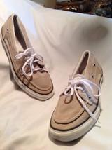 Converse ONE Star Canvas Boat Deck Shoes SZ 9 MEN'S Light Gray Tan Excel... - $25.24