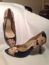 Nine West BLUE BEIGE BROWN PINK NWFLAX Pointy Toe Pumps Heels **Women's 6M - $21.03