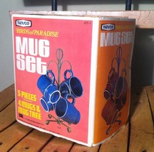 Vintage Mug Set In Box NOS - $14.85