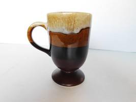 Ceramic multitone brown mug VGU - $7.19