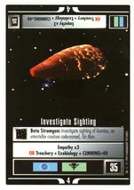 Star Trek CCG - Investigate Sighting - $0.75