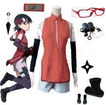 Boruto Naruto Uchiha Sarada cosplay costume - $106.82