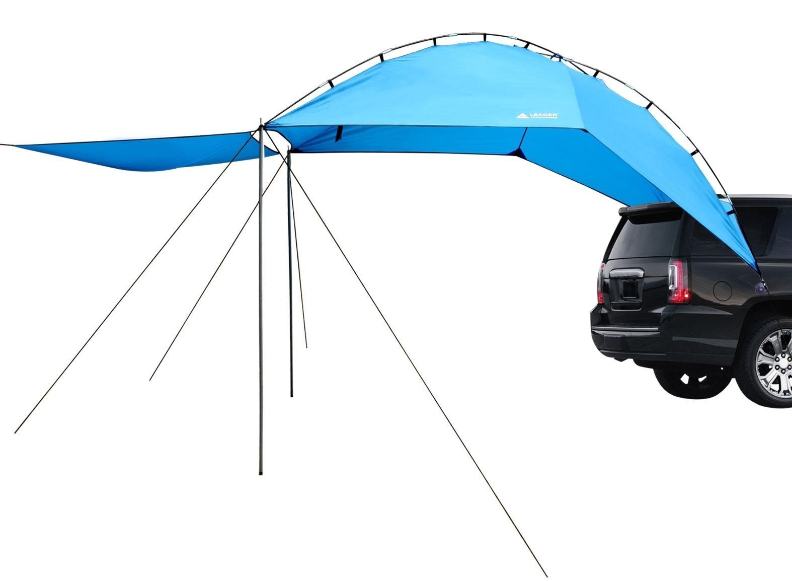 Leader Accessories Easy Set Up Camping SUV Tent/Awning/Canopy/ Sun Shelter Tailg