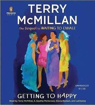 Getting to Happy by Terry McMillan (2010, CD, Unabridged) - €13,19 EUR