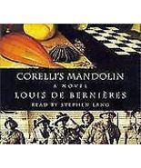 Corelli's Mandolin by Louis de Bernières (2001, CD, Abridged) - $9.50