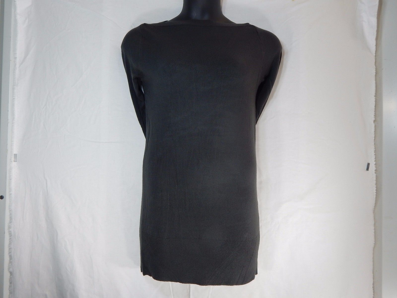 Wear Freedom Sweater Dress Long Sleeve Size: Small (S) Charcoal Gray