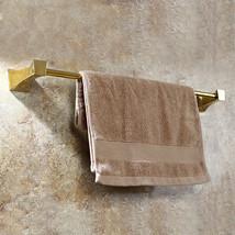 Gold clour bathroom brass single towel bar square design - $59.29