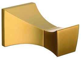 gold clour bathroom brass clothes hook robe hook square  - $46.52