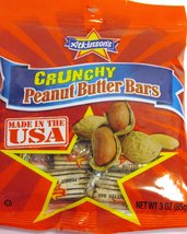 Atkinson's Crunchy Peanut Butter Bars Individually Wrapped 3 Oz Non-Rese... - $6.85