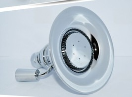 "Adjustable Solid brass Shower head in Chrome 4.3""Diameter Free ship - $59.39"