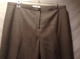Women's Calvin Klein Gray Dress Pants Size 10 image 2