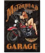Refrigerator Magnet Motorhead Garage since 1939 - $3.25