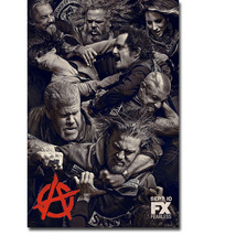 SONS OF ANARCHY Jax Teller TV Series Art Silk P... - $29.99