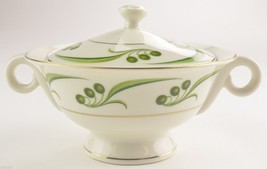 "Theodore Haviland China Bel Air Covered Sugar Bowl with Lid 4"" Tall Tableware - $14.99"